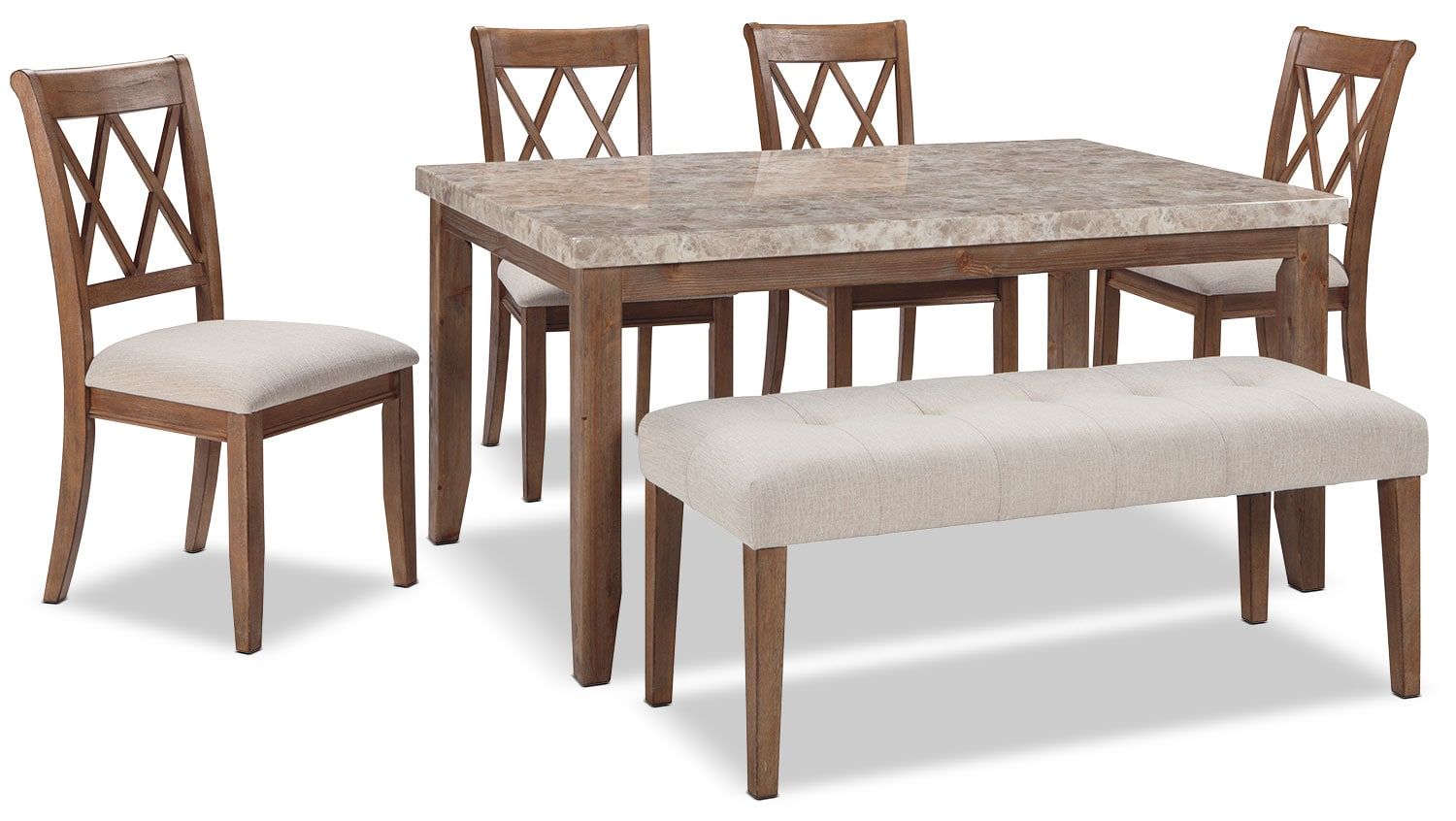 Narvilla 6-Piece Dining Package