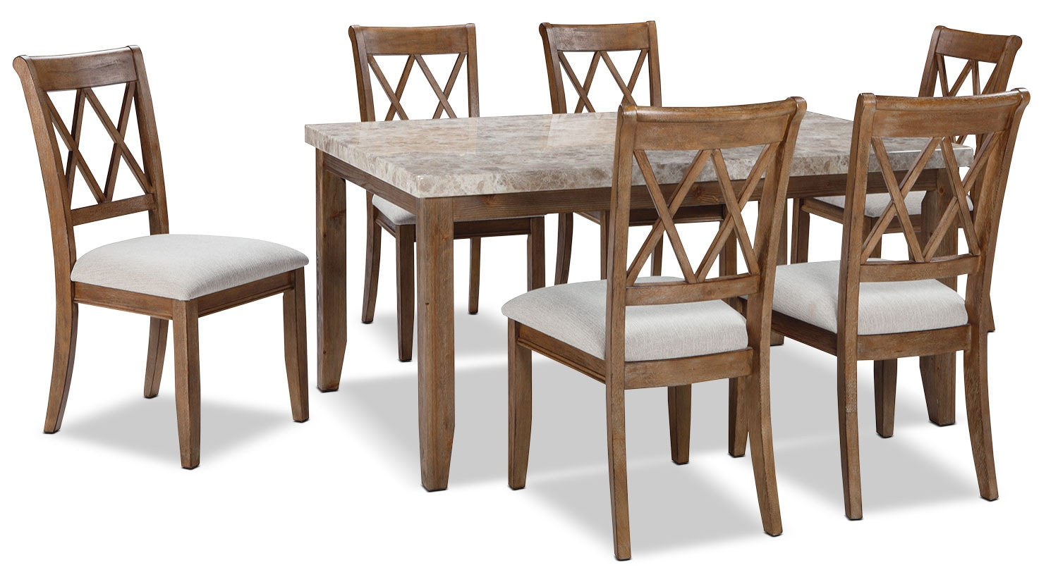 Narvilla 7-Piece Dining Package