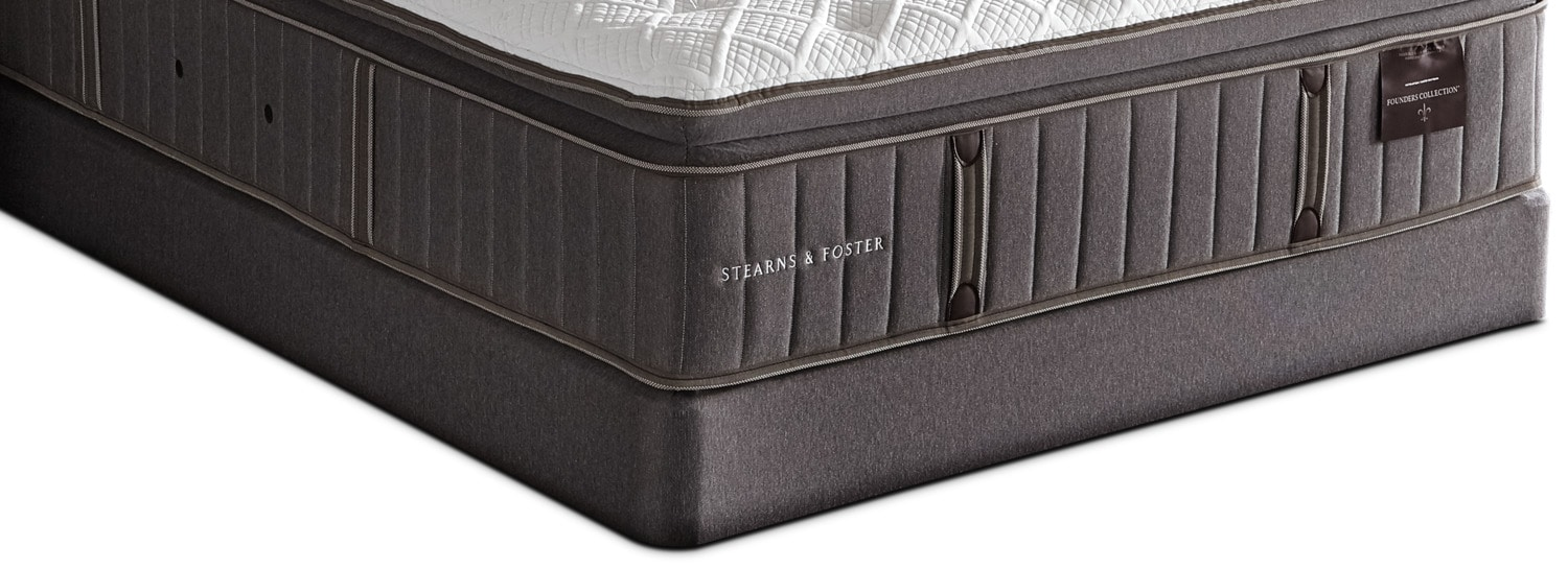 Stearns and Foster 2017 Queen Boxspring
