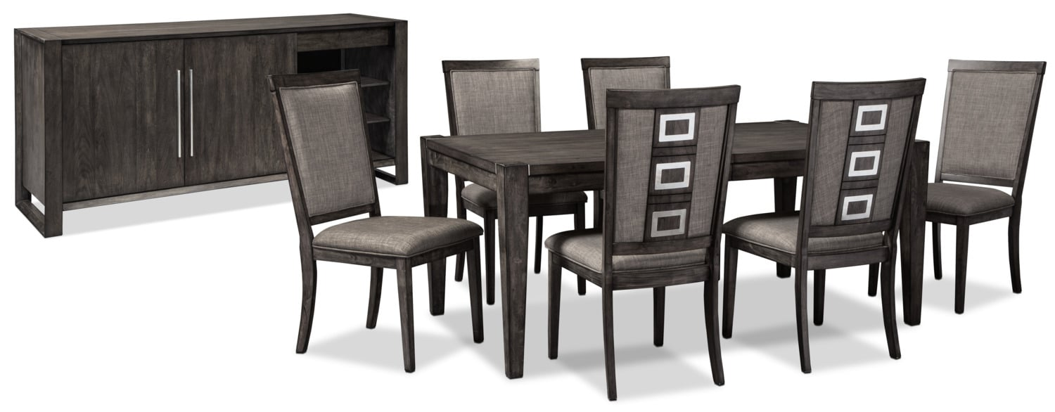 Dining Room Furniture - Chadoni 8-Piece Dining Package