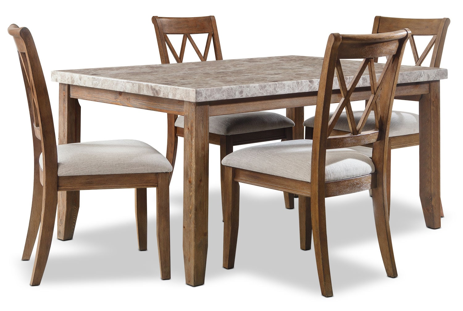 Narvilla 5-Piece Dining Package