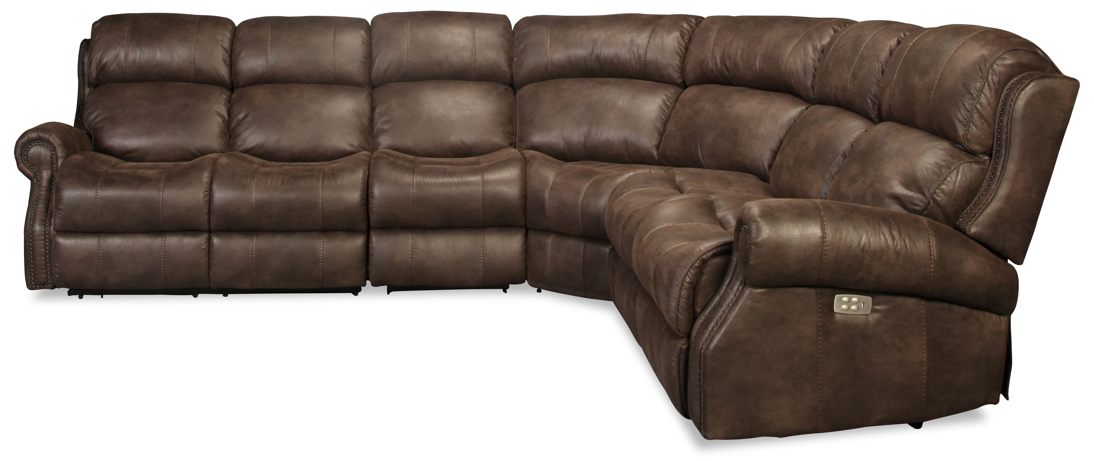Rylee 4pc Power Reclining Sectional