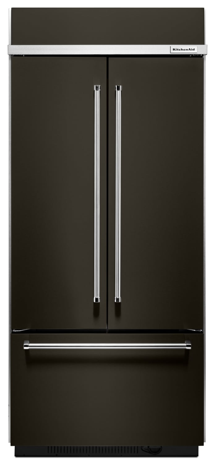KitchenAid 20.8 Cu. Ft. Built-In French-Door Refrigerator – KBFN506EBS