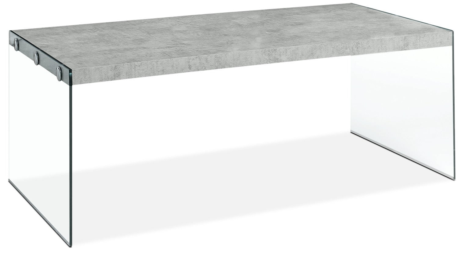 Yonah Coffee Table – Cement Grey