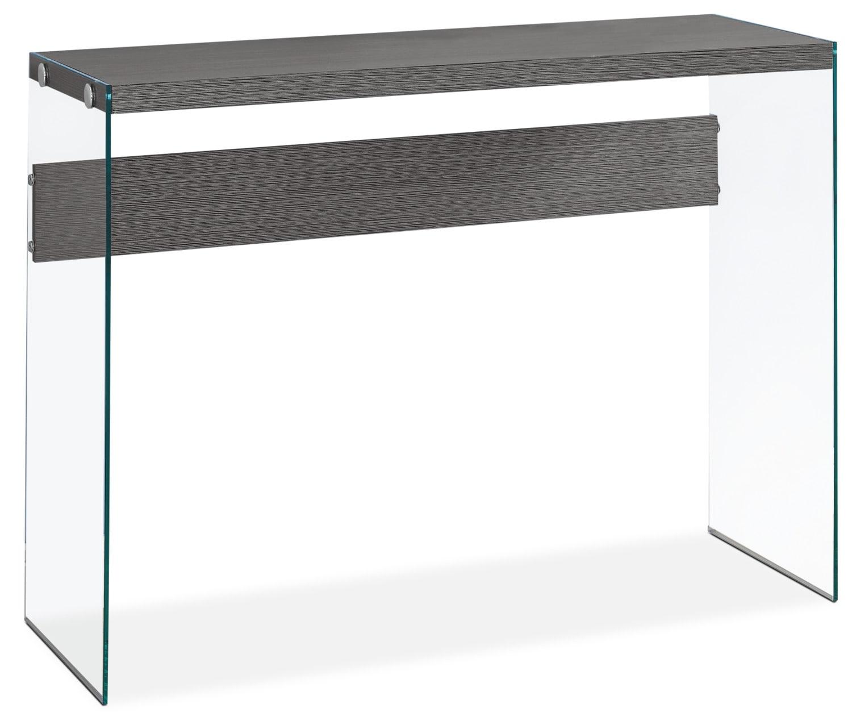 Décoratif et Occasionnel - Table de salon Yonah - grise