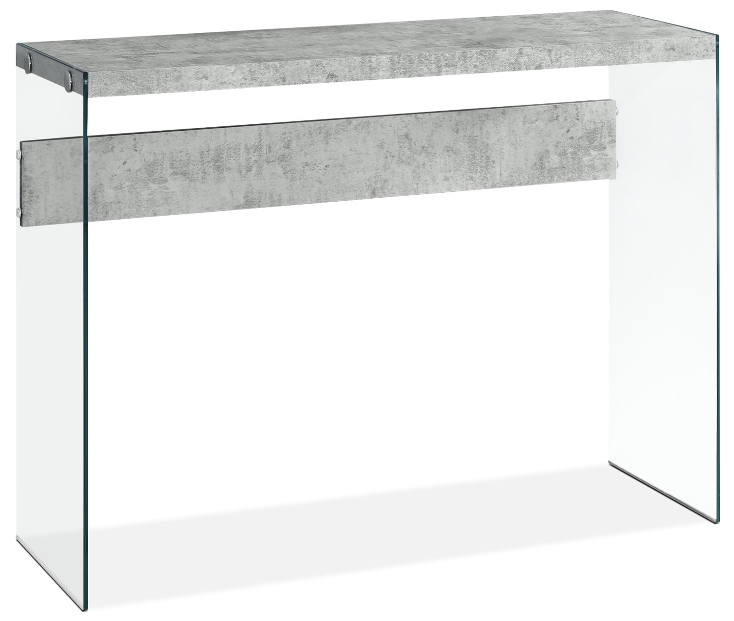 Yonah Sofa Table – Cement Grey