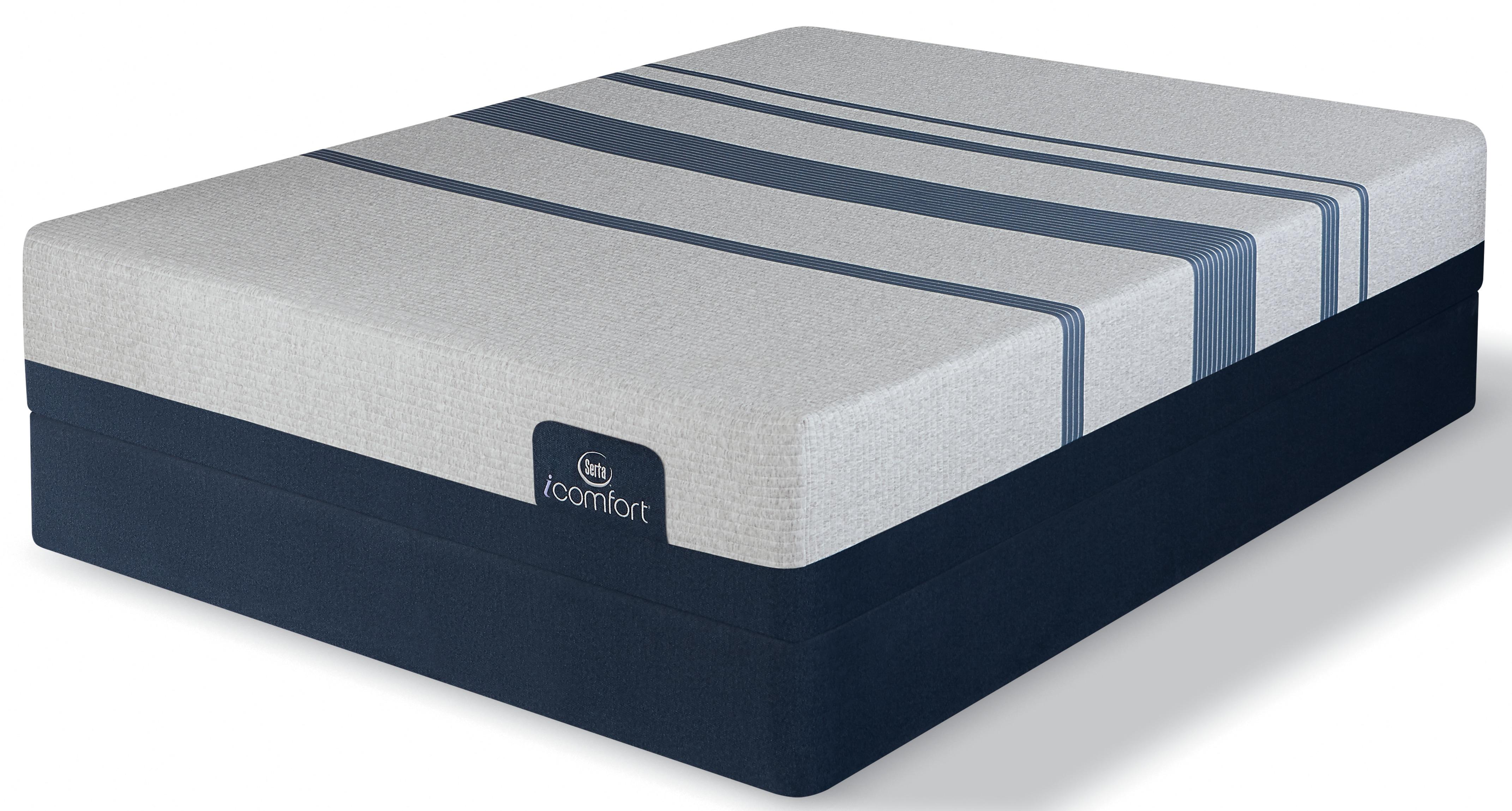 iComfort Blue 500 Full Mattress and Boxspring Set