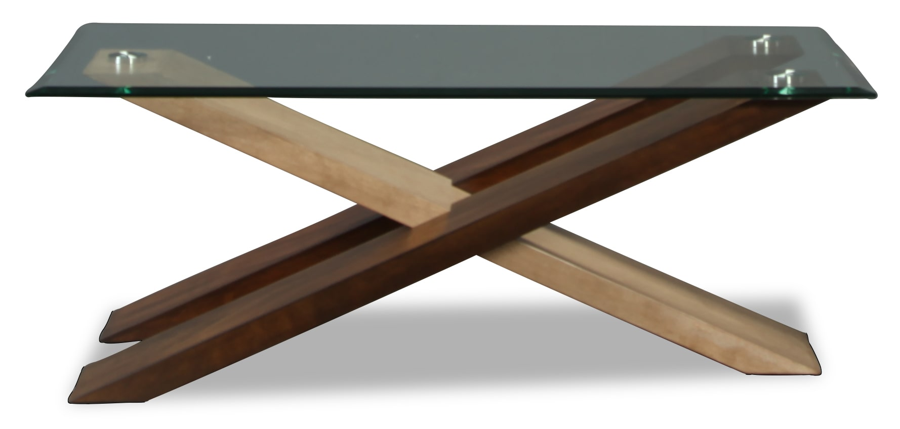 Perspective Glass Top Coffee Table
