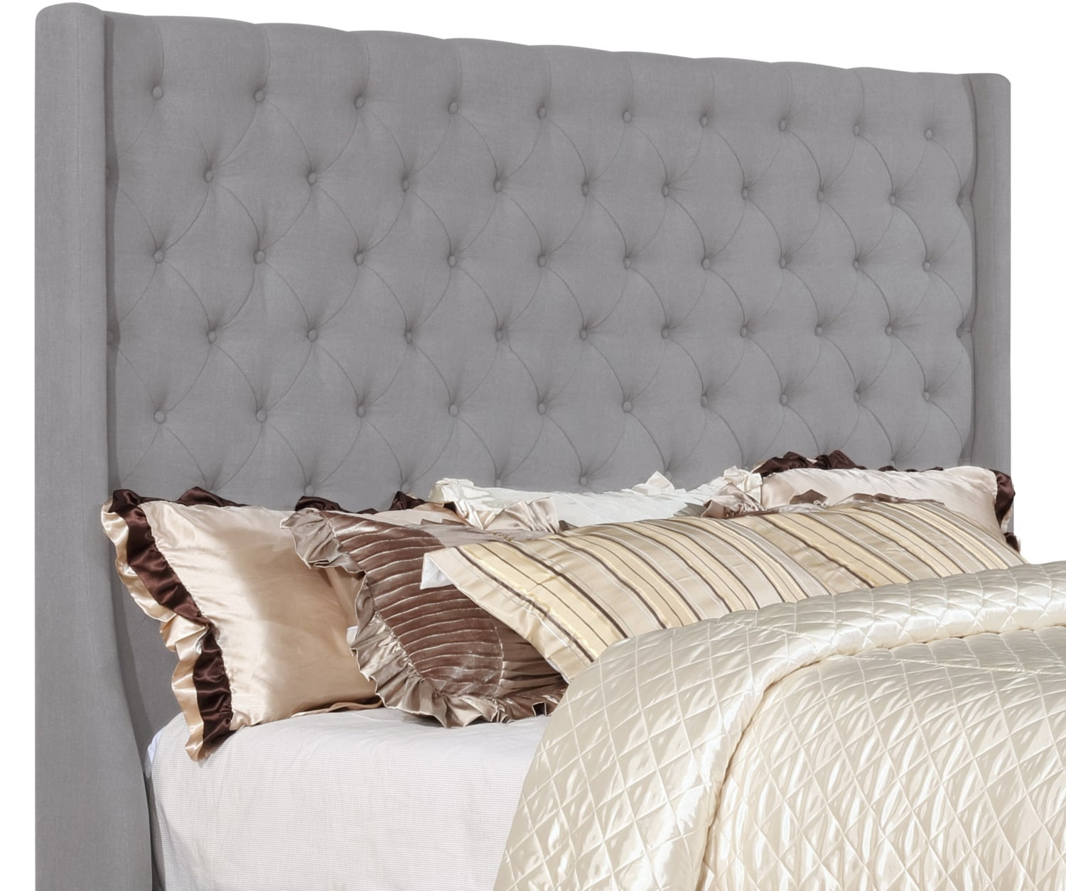 Madrid King Headboard – Taupe