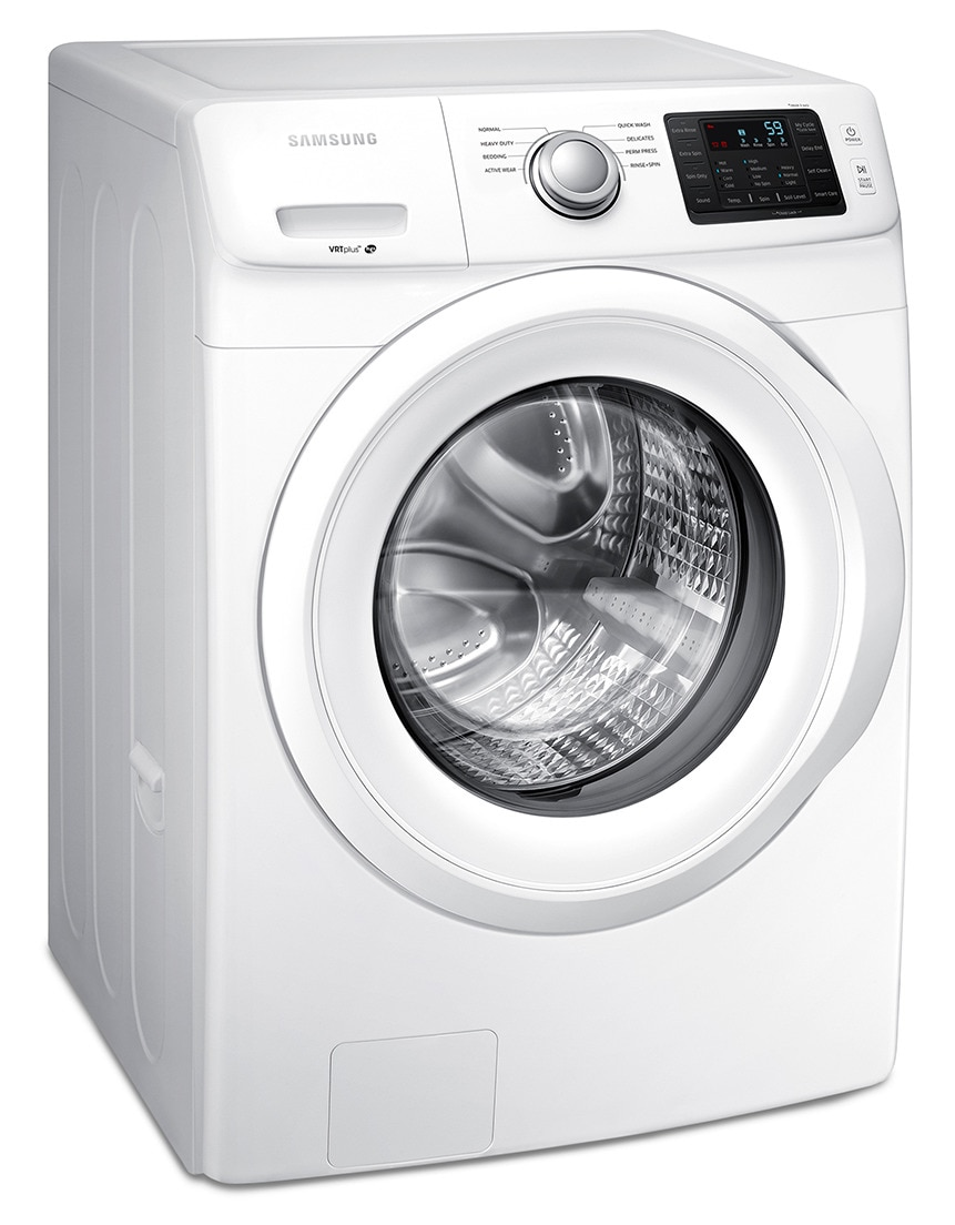 Samsung White Front Load Washer 5 2 Cu Ft Iec
