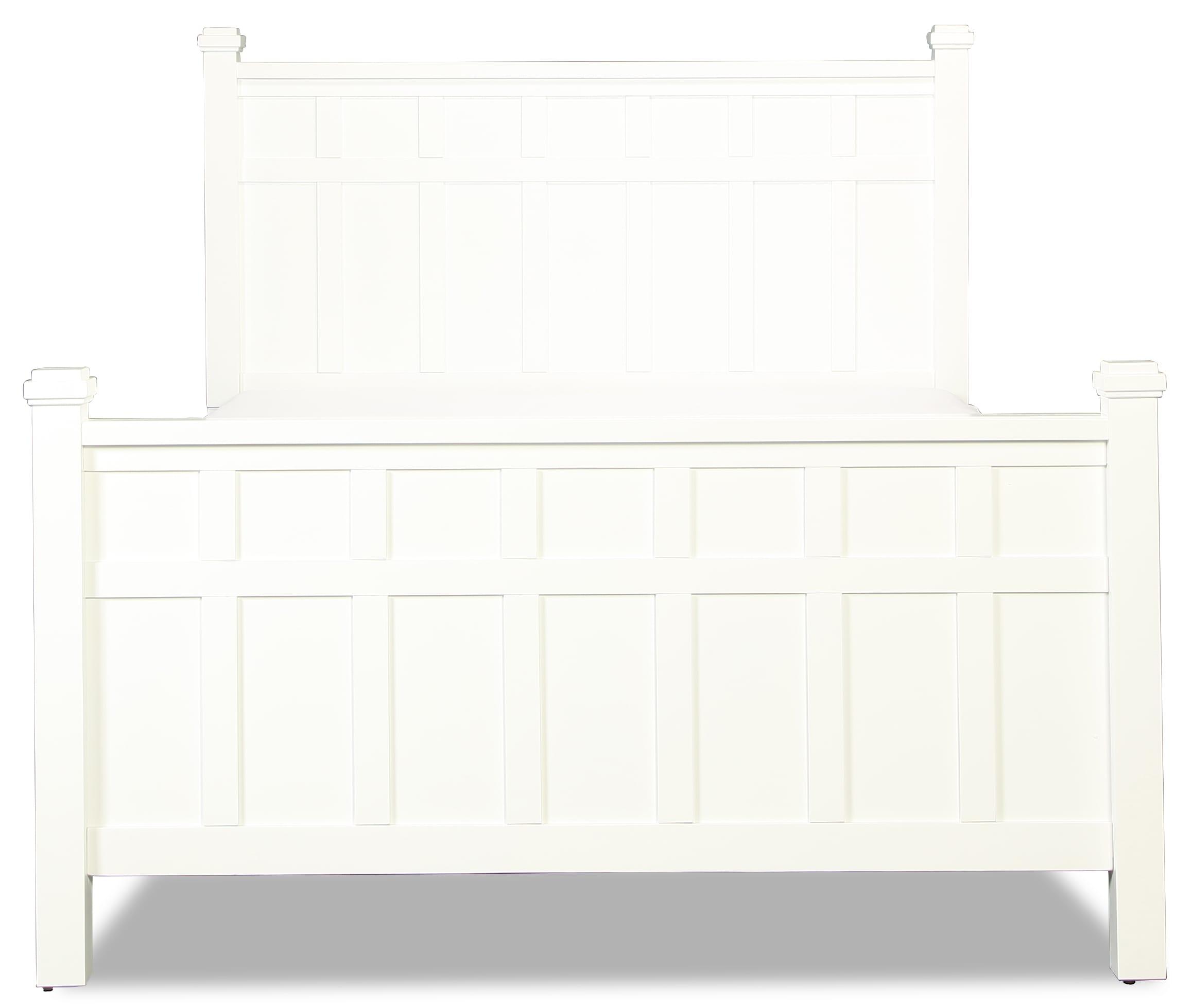 Felicity White Queen Bed