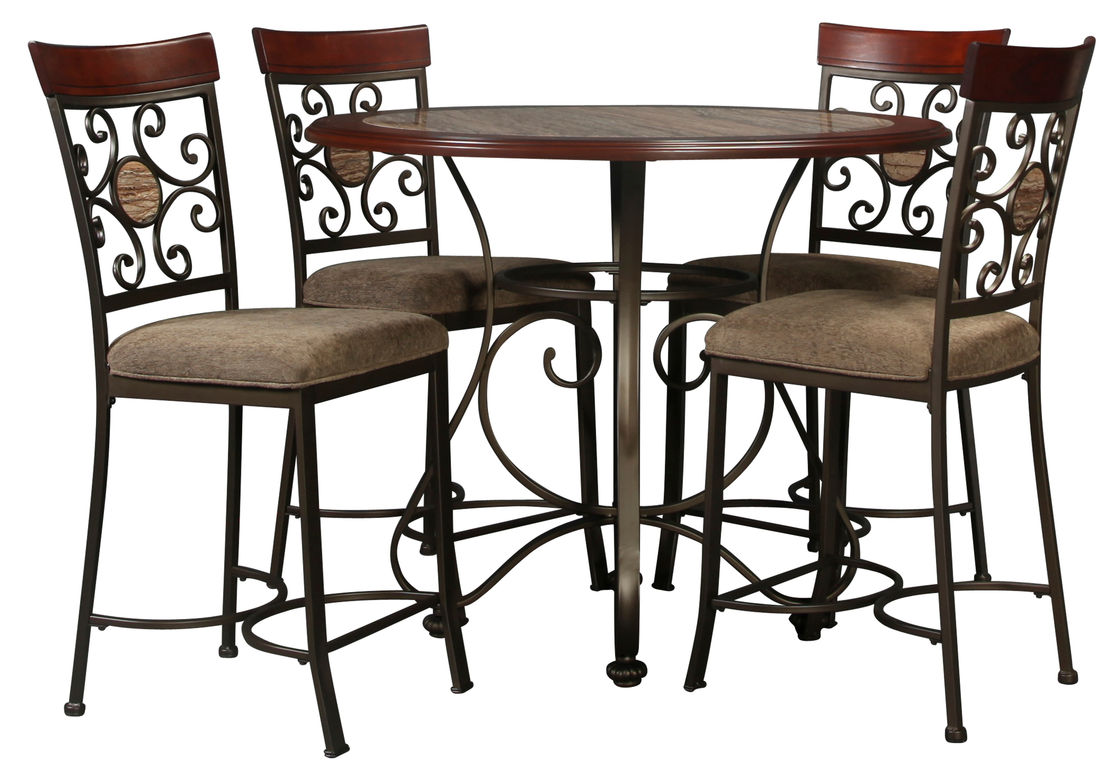 Pinehurst 5pc Counter Height Dining
