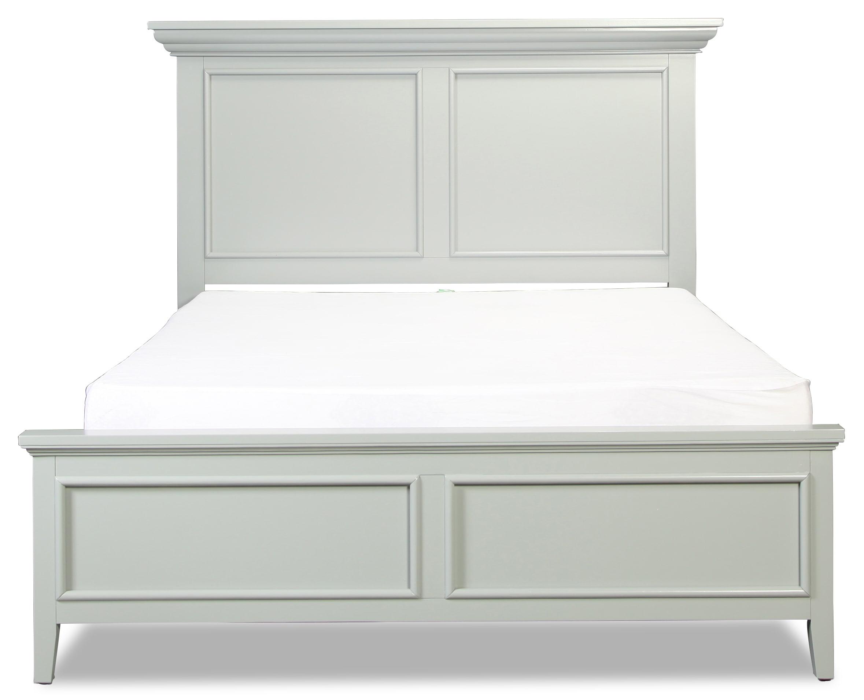 Ellsworth Grey King Panel Bed
