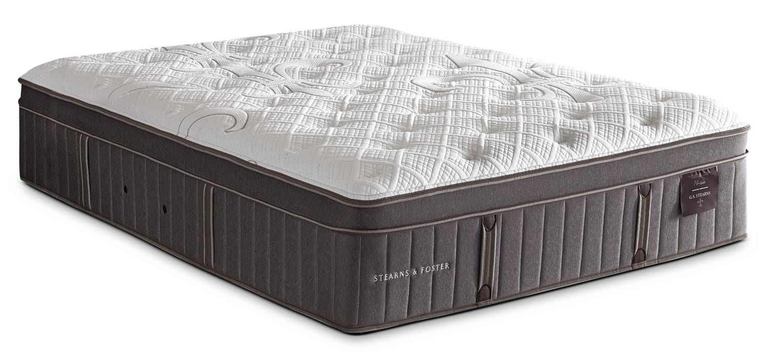 Stearns & Foster Marina Bay Euro-Top Plush King Mattress