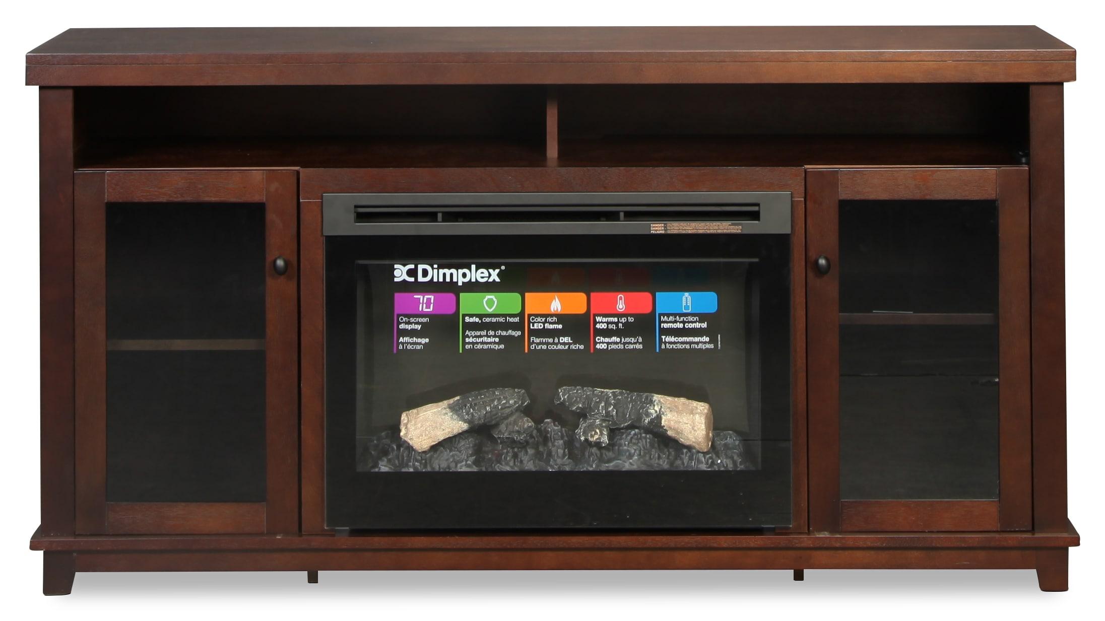 Dupont Media Fireplace
