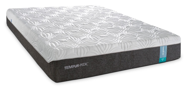 tempur pedic appeal 2 0 cushion firm king mattress and complete adjustable base set leon 39 s. Black Bedroom Furniture Sets. Home Design Ideas