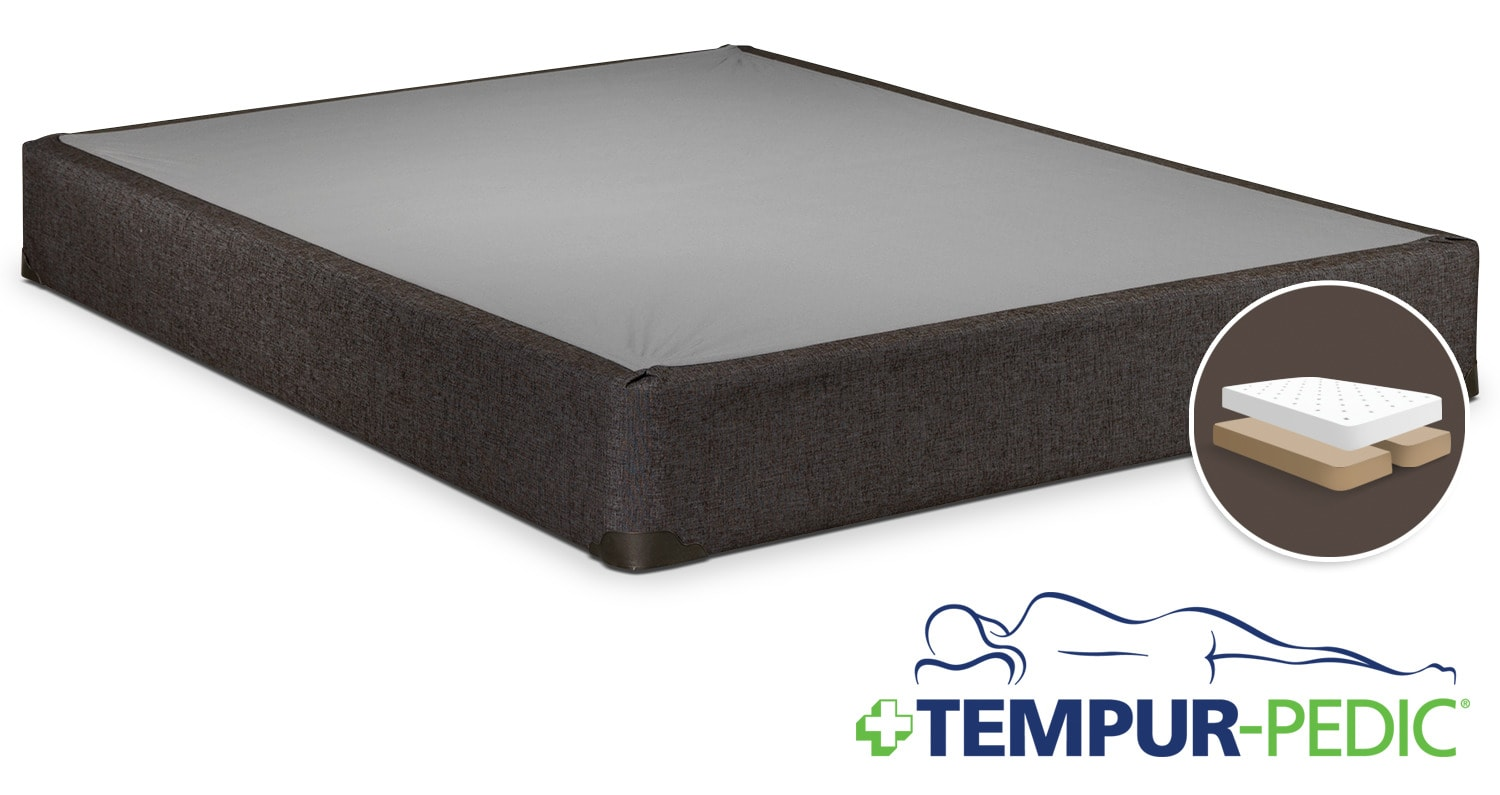 Mattresses and Bedding - Tempur-Pedic Reinforce King Split Boxspring