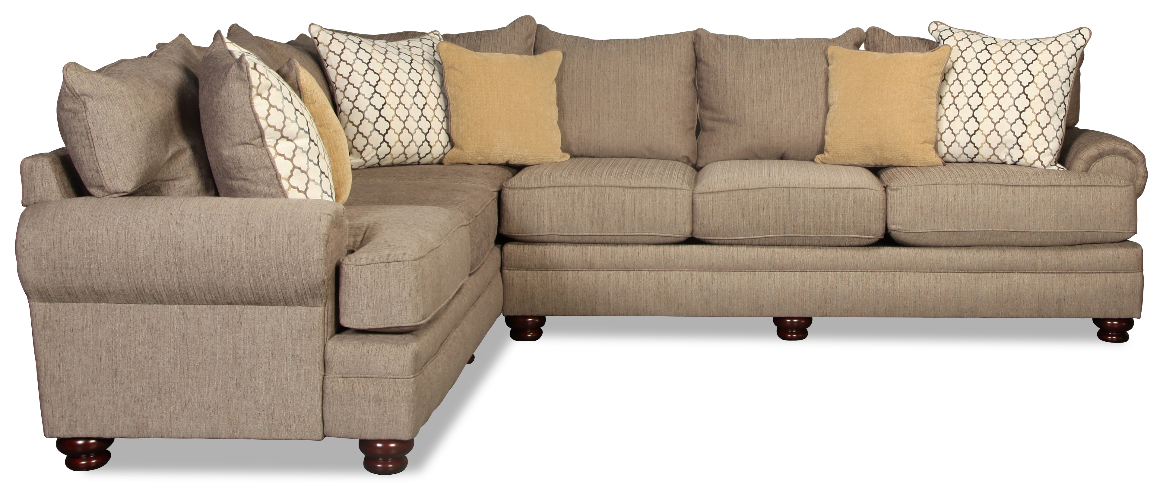 Draper 2pc Sectional