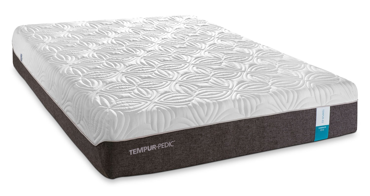 Tempur pedic embrace 2 0 plush twin xl mattress and boxspring set leon 39 s Twin mattress xl