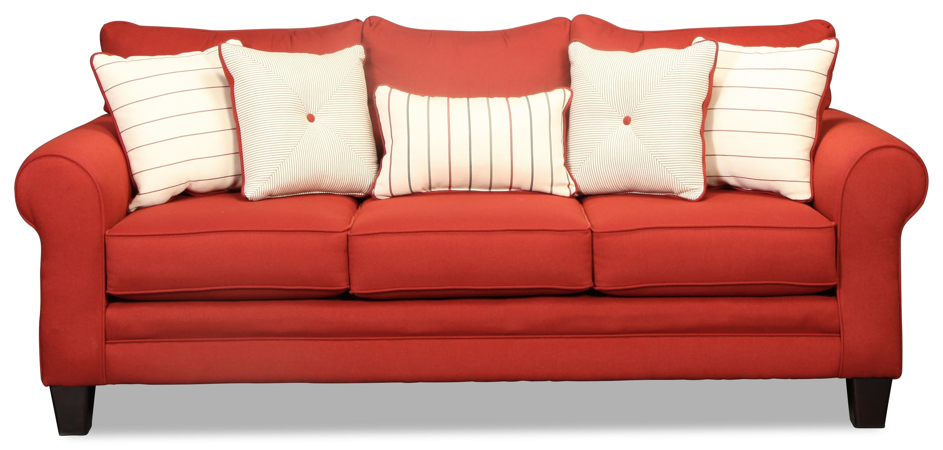 Aspire Sofa- Red