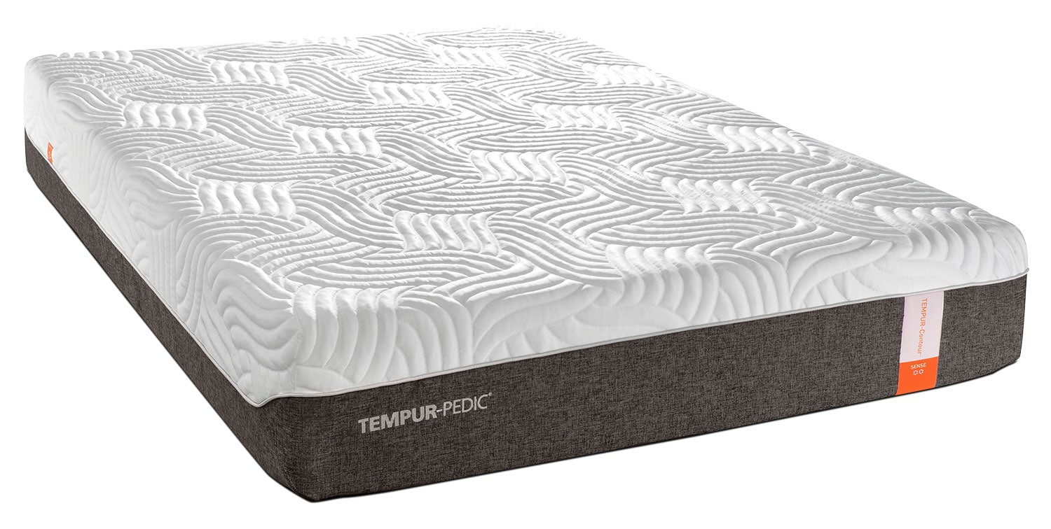 Tempur pedic sense 2 0 firm king mattress and split adjustable head up base set leon 39 s Mattress king