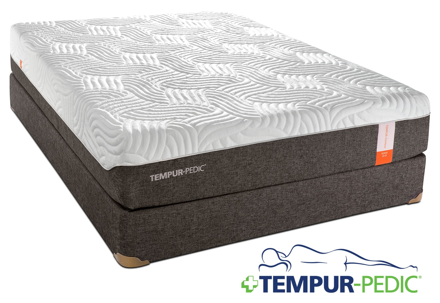 Tempur-Pedic Sense 2.0 Firm Twin Mattress and Boxspring Set