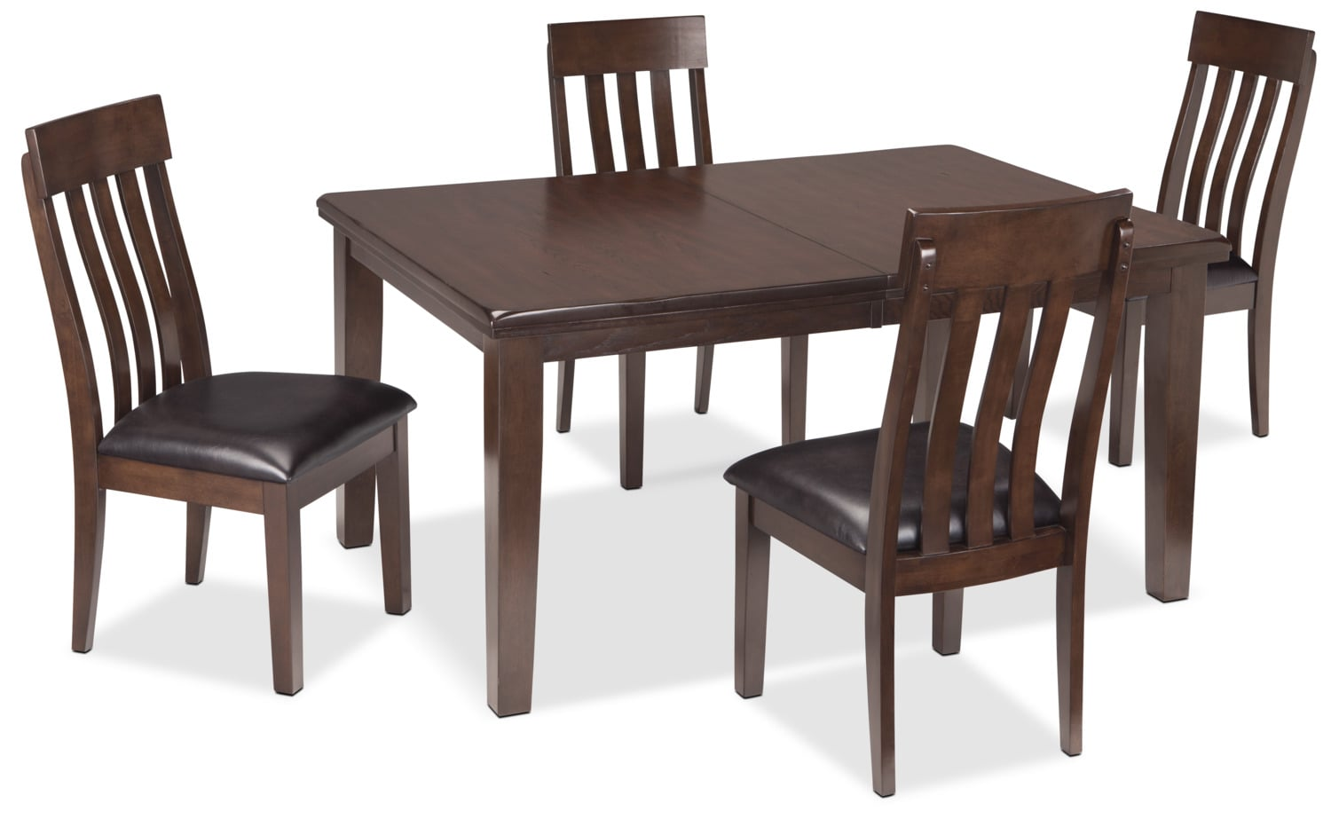 Haddigan 5 Piece Dining Package