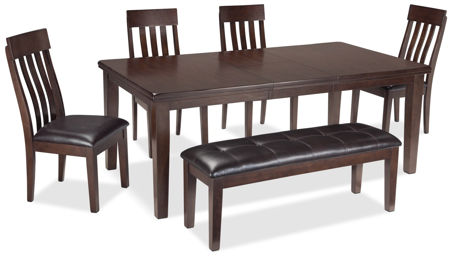 Dining Room Furniture - Haddigan 6-Piece Dining Package