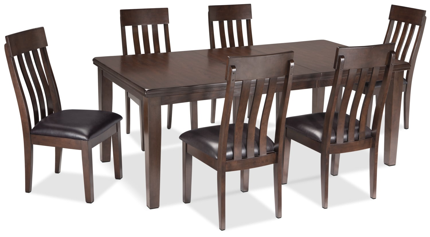 Dining Room Furniture - Haddigan 7-Piece Dining Package