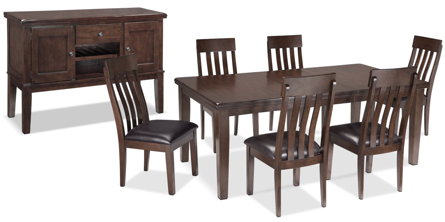 Haddigan 8-Piece Dining Package