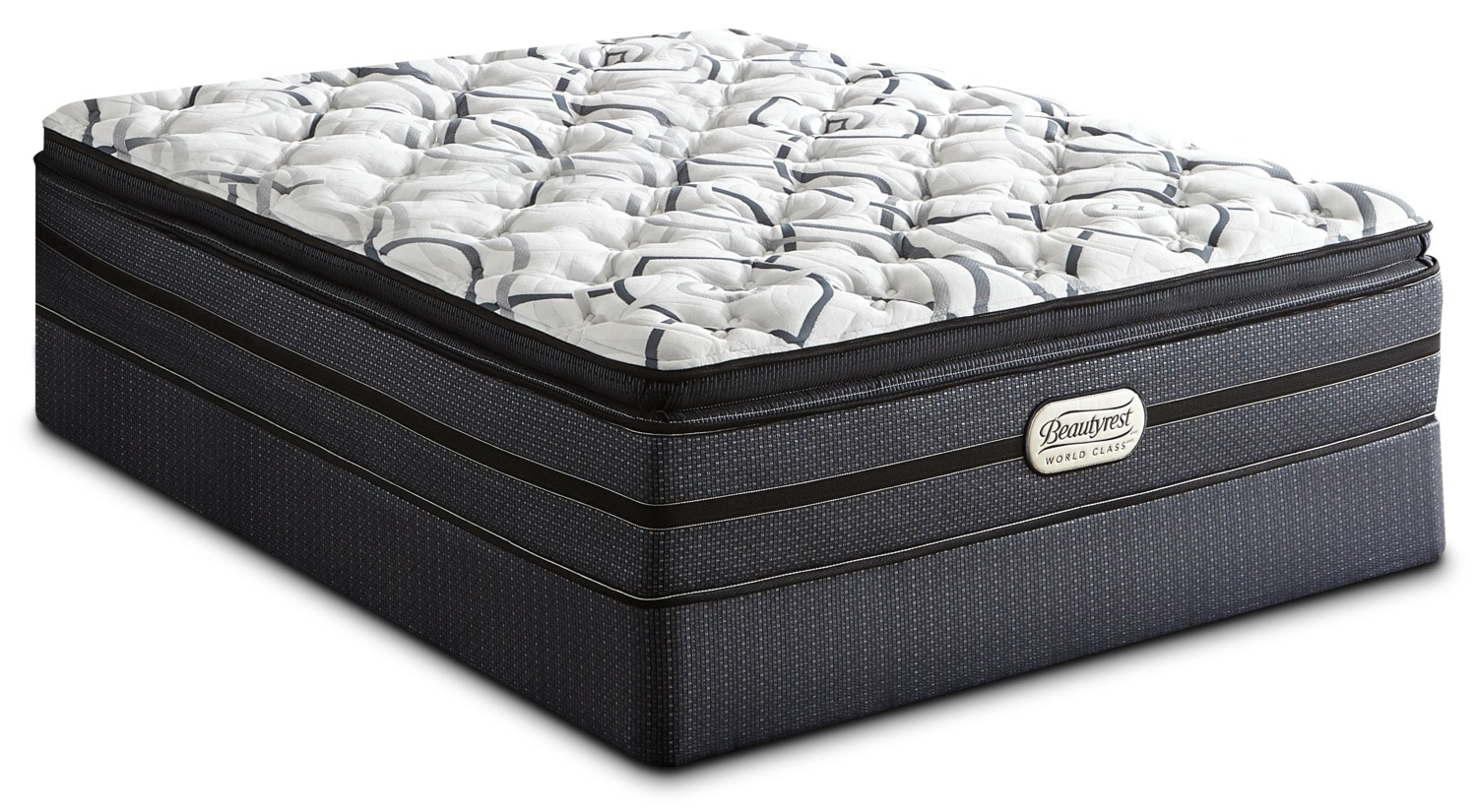 Beautyrest® World Class Millen Pillow-Top Luxury Firm Queen Mattress Set