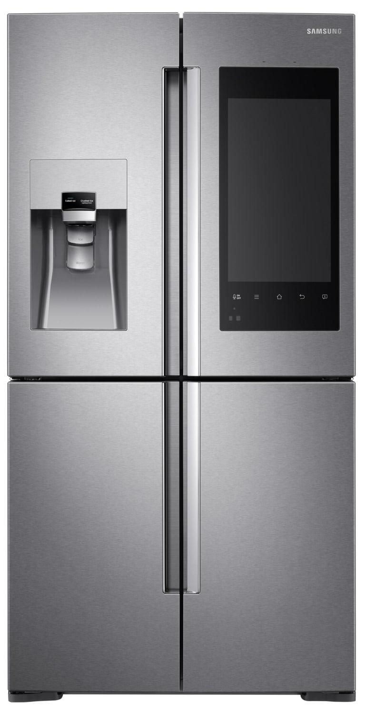 Samsung Stainless Steel 4-Door French Door Refrigerator (27.9 Cu. Ft) - RF28K9580SR/AC