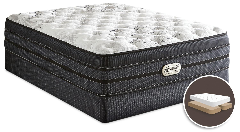 Beautyrest® World Class Jasmine Ultra Comfort Top Plush Split Queen Set
