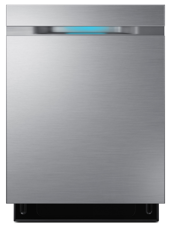 Clean-Up - Samsung 42 dBA Built-In WaterWall™ Dishwasher – DW80M9550US/AC