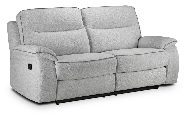Latham Reclining Sofa - Frost