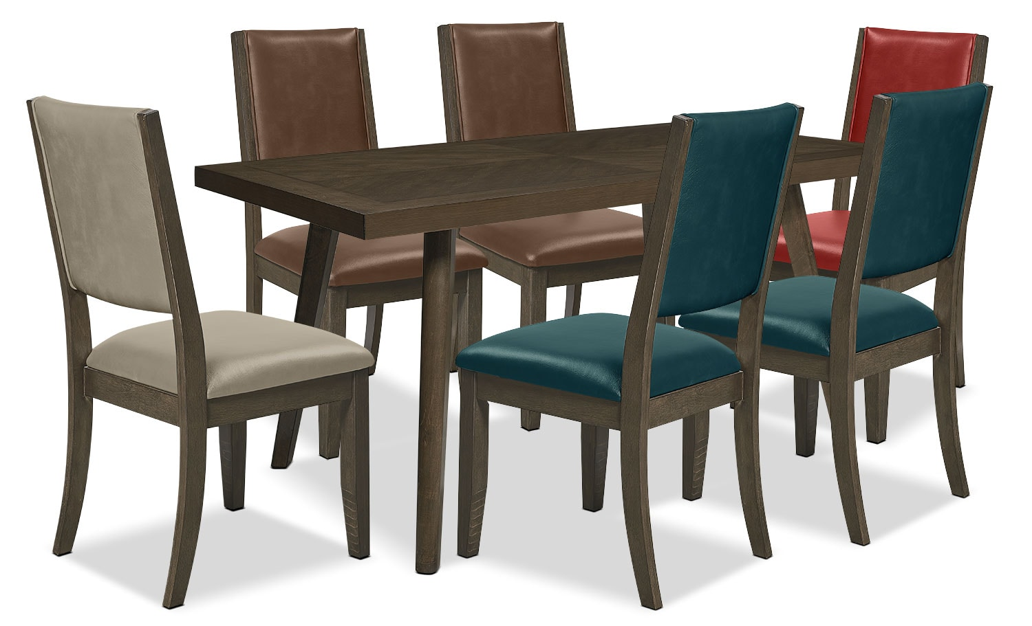 Banff 7-Piece Dining Package – Assorted Colours