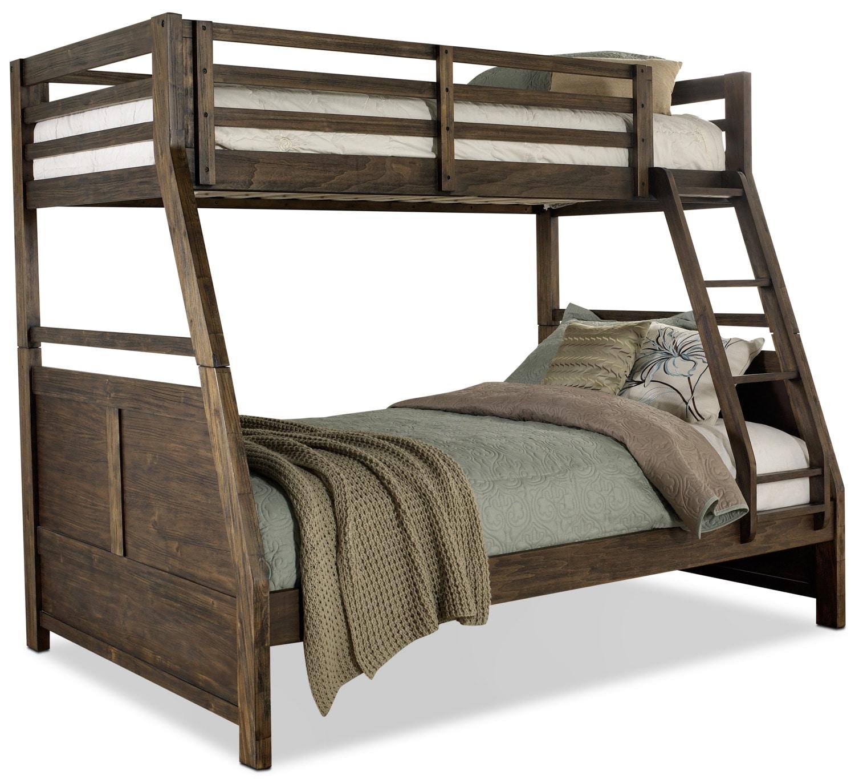 Chadwick Twin/Full Bunk Bed – Rustic
