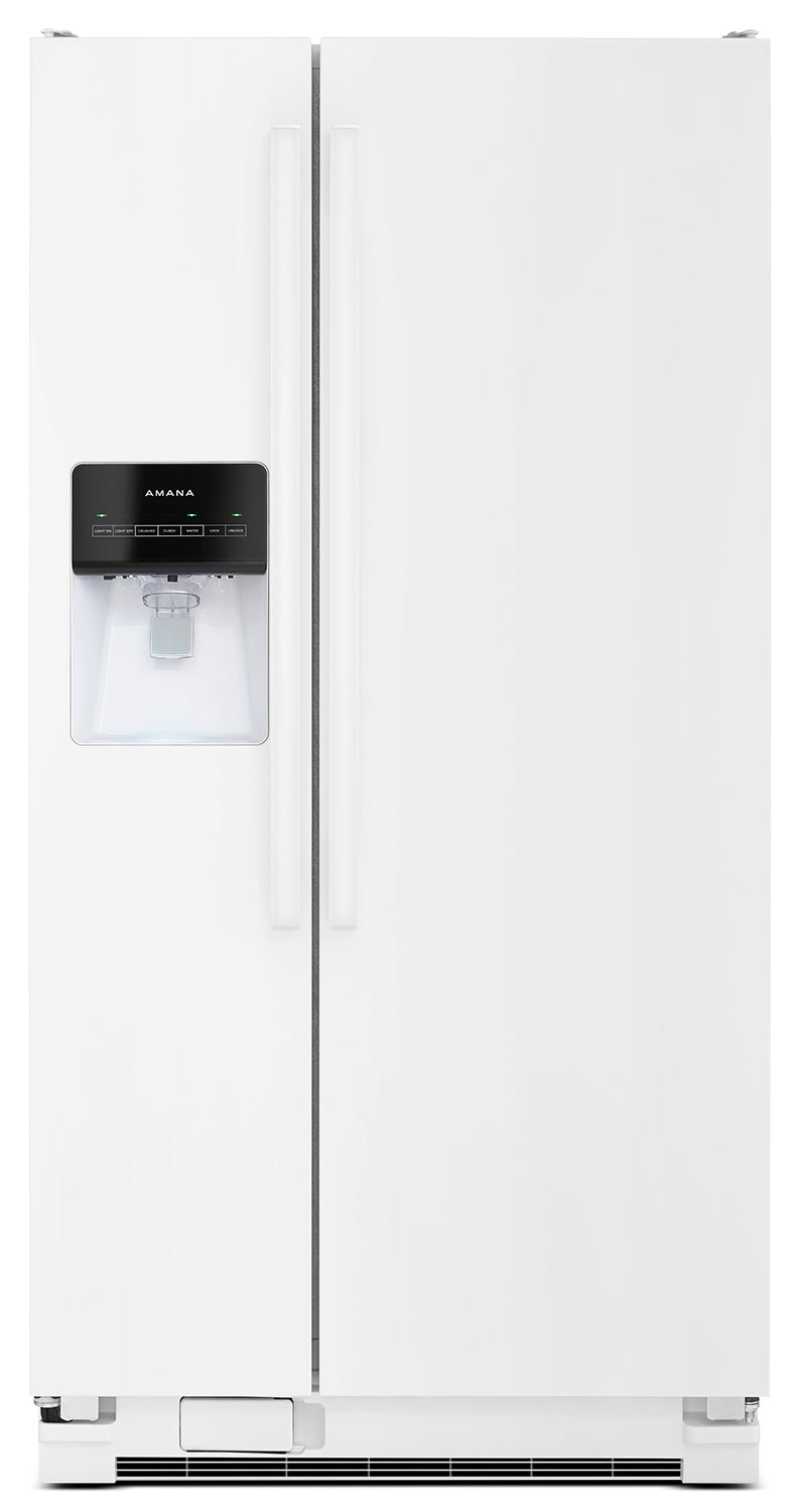 Refrigerators and Freezers - Amana® 21 Cu. Ft. Side-by-Side Refrigerator – ASI2275FRW