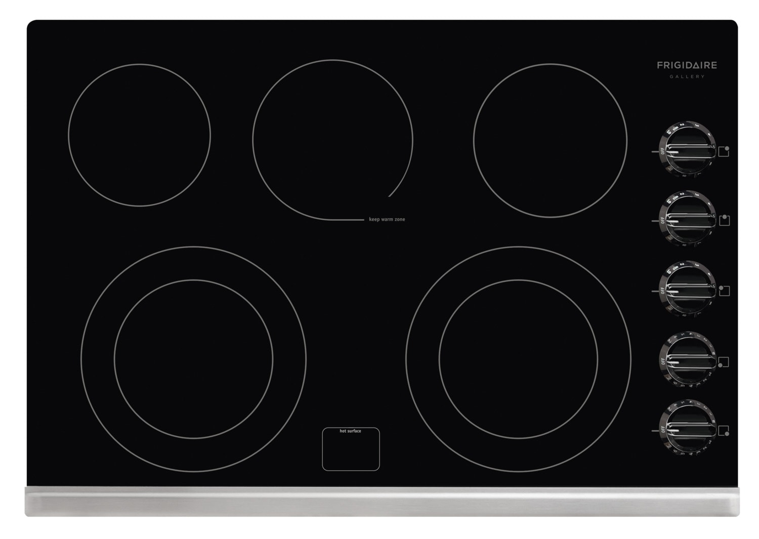 "Frigidaire Gallery 30"" Electric Cooktop – FGEC3067MB"
