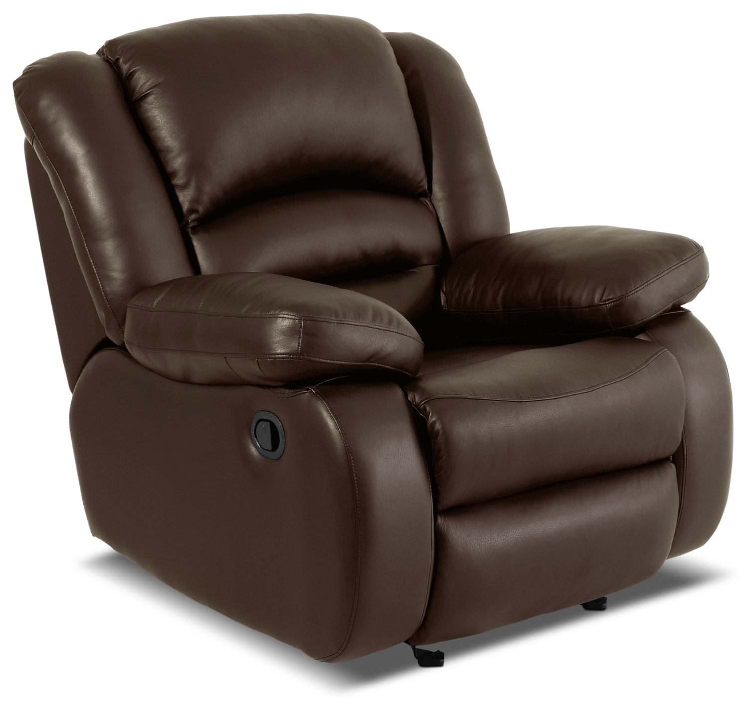 Toreno Genuine Leather Reclining Chair – Brown