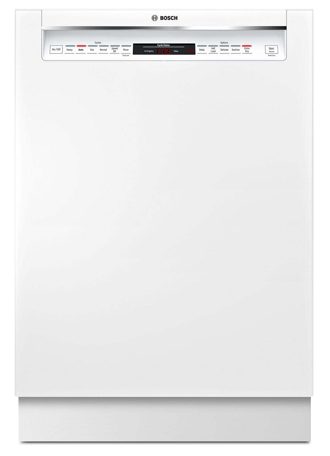 Clean-Up - Bosch 800 Series Recessed Handle Built-In Dishwasher – SHEM78W52N