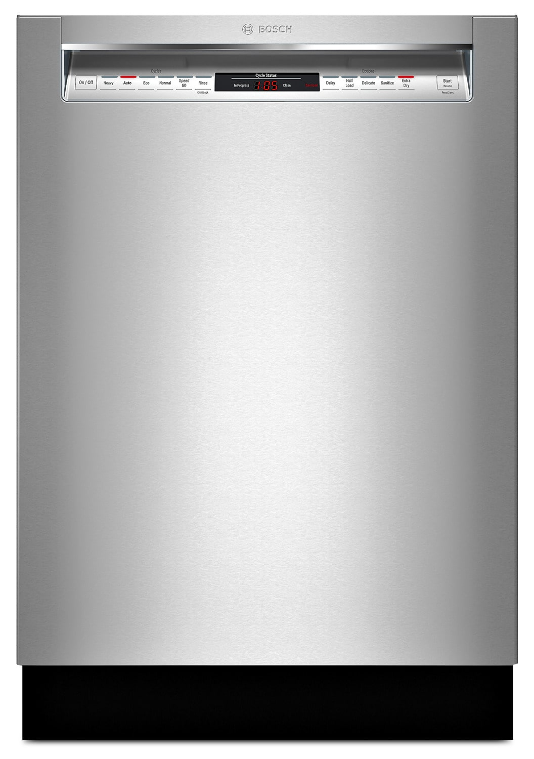 Bosch 800 Series Recessed Handle Built-In Dishwasher – SHEM78W55N