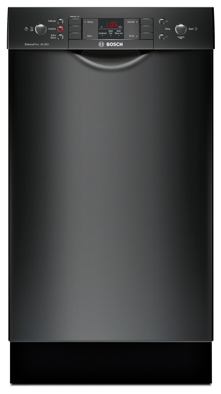 "Bosch 300 Series Compact 18"" Built-In Dishwasher – SPE53U56UC"
