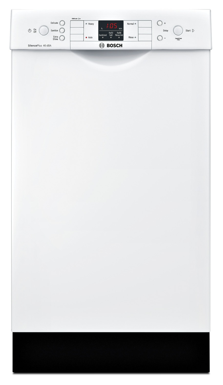 "Bosch 300 Series Compact 18"" Built-In Dishwasher – SPE53U52UC"