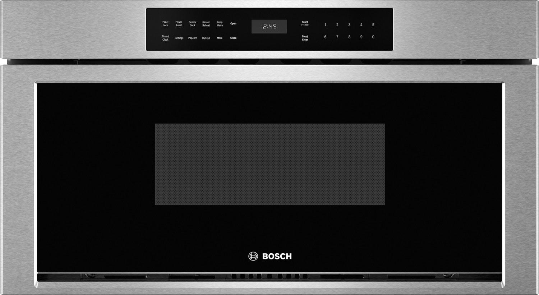 "Bosch 800 Series 30"" 1.2 Cu Ft. Drawer Microwave – HMD8053UC"