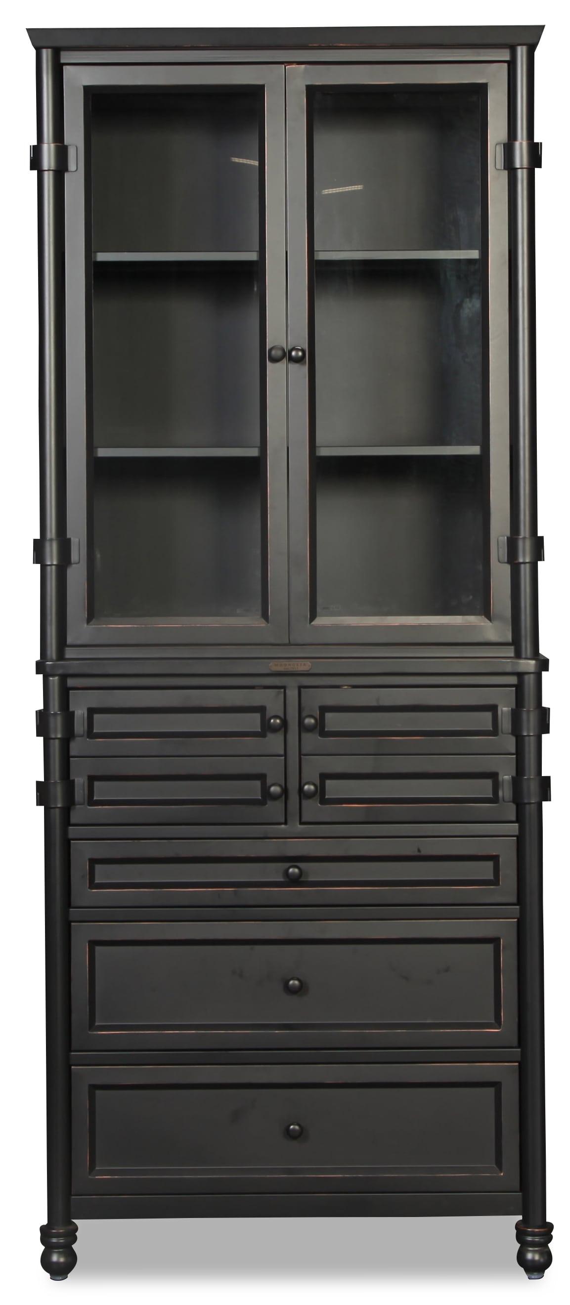 Magnolia Home Industrial Metal Dispensary Cabinet