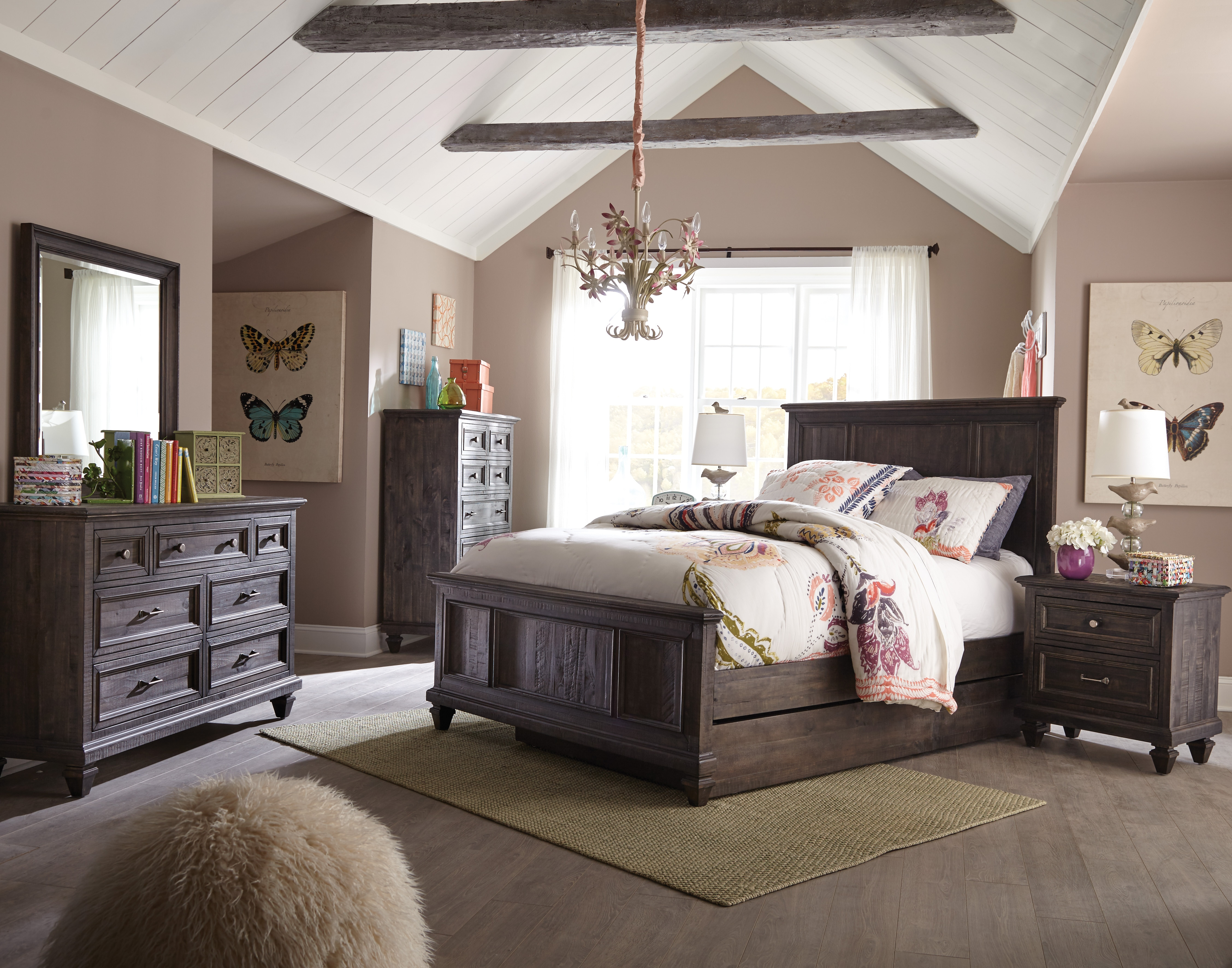 Lil Calistoga 4pc Twin Bedroom Set