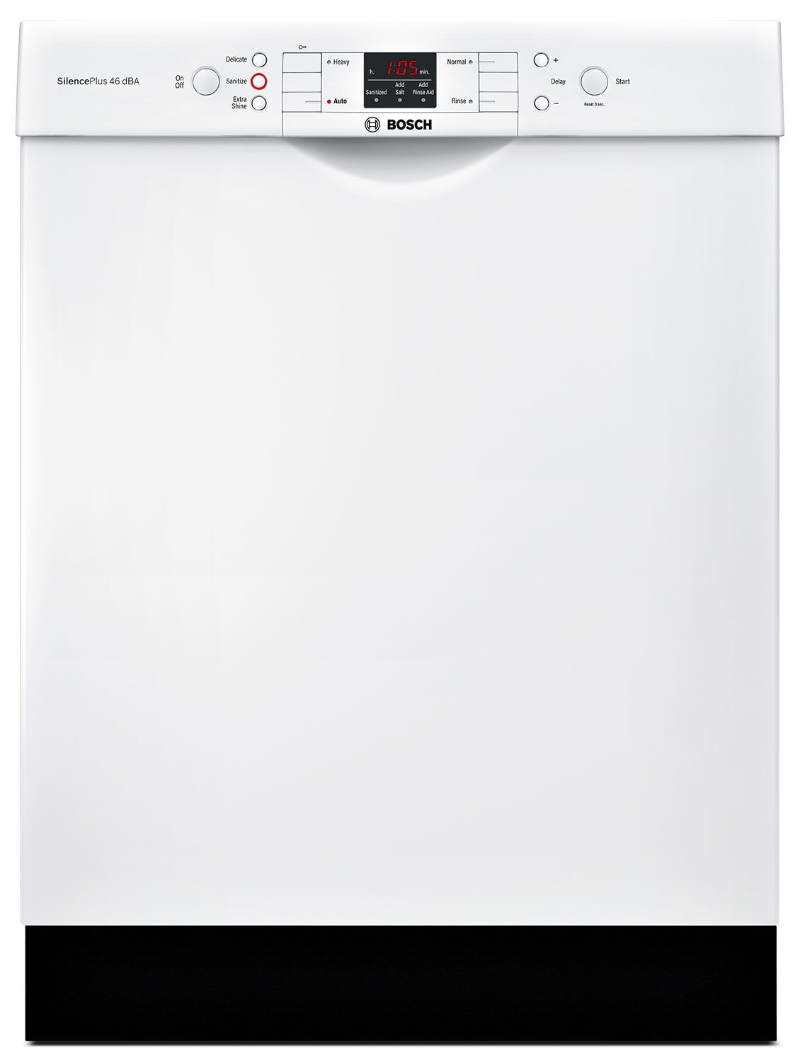 Bosch 300 Series Recessed Handle Built-In Dishwasher – SGE53U52UC