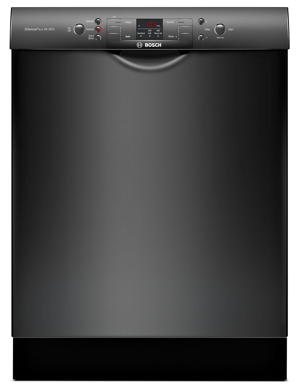 Bosch 300 Series Recessed Handle Built-In Dishwasher – SGE53U56UC