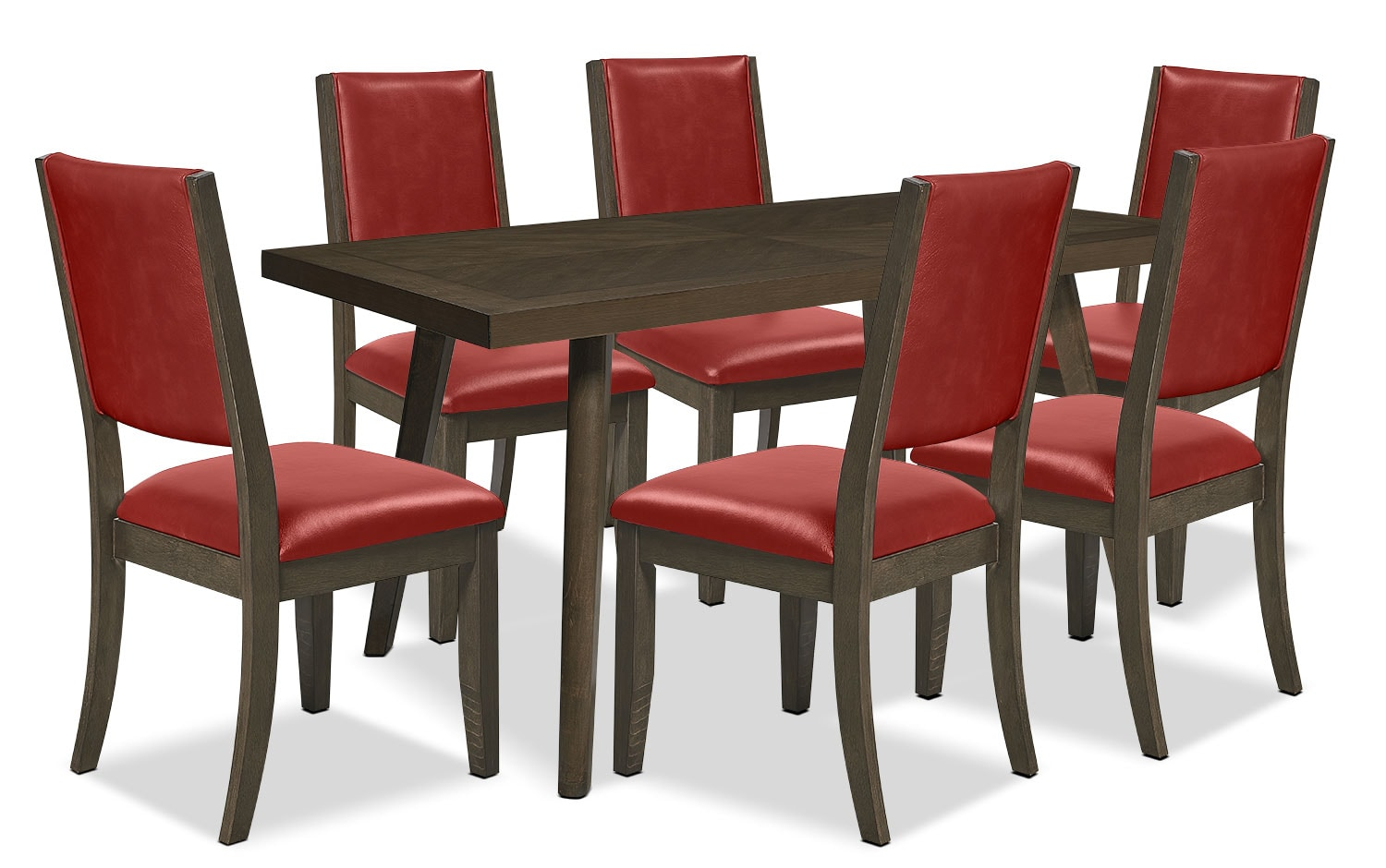 Banff 7-Piece Dining Package– Ruby